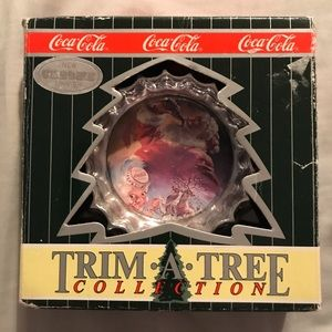 Coca Cola Soda Pop Bottle Cap ornament 1997